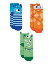 Mothercare Multicoloured Monster Socks - 3 Pack