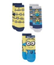 Despicable Me Socks - 3 Pack