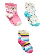 Happy Rainbow Socks - 3 Pack