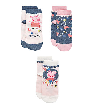 Peppa Pig Socks - 3 Pack