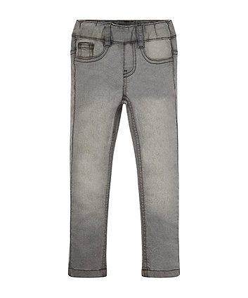 Mothercare Pale Grey Denim Jeggings