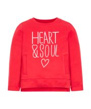 Mothercare Heart And Soul Sweat Top