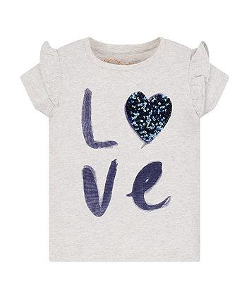 Mothercare Love Heart T-Shirt