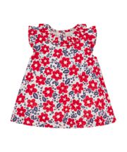 Mothercare Frilly Floral Blouse