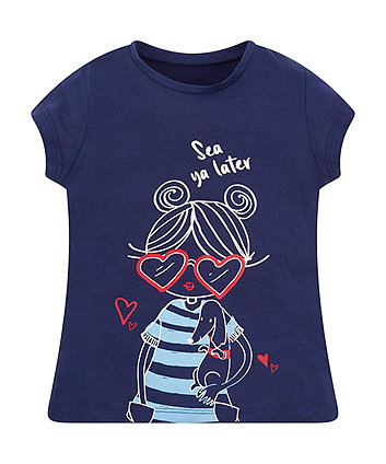 Mothercare Sea Ya Later T-Shirt