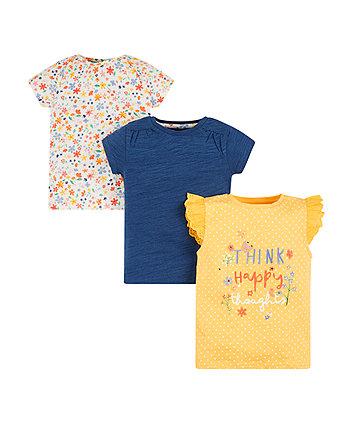 Happy Thoughts T-Shirts - 3 Pack