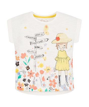 White Springtime T-Shirt