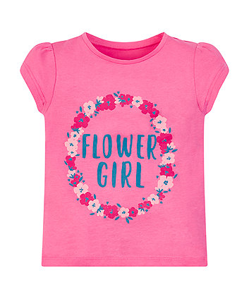 Mothercare Flower Girl T-Shirt
