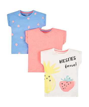 Besties Forever T-Shirts - 3 Pack