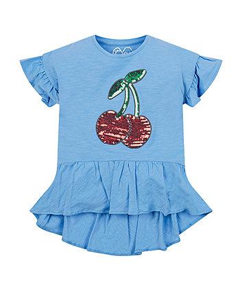 Blue Cherry T-Shirt