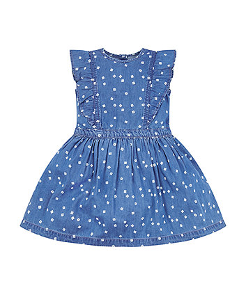 Mothercare Floral Pinny Dress