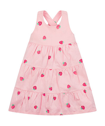 pink strawberry dress