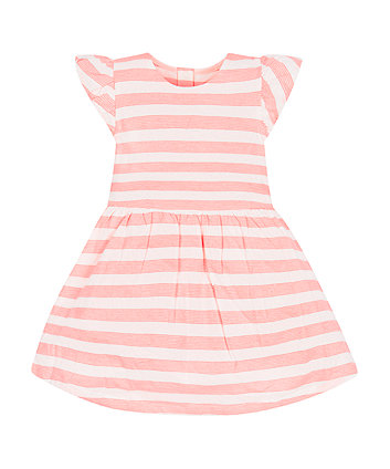 Mothercare Neon Stripe Jersey Dress