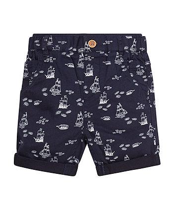 Navy Boat Shorts