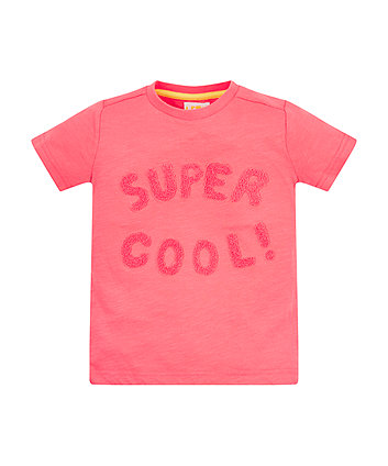 Mothercare Coral Super Cool T-Shirt