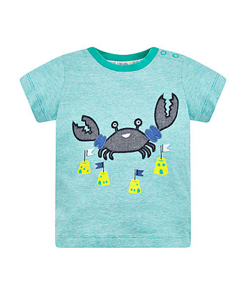 Mothercare Green Crab T-Shirt