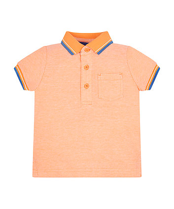 Orange Polo Shirt