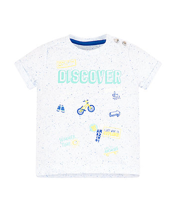 Mothercare Blue Discover T-Shirt