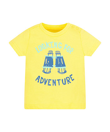 Mothercare Looking For Adventure T-Shirt