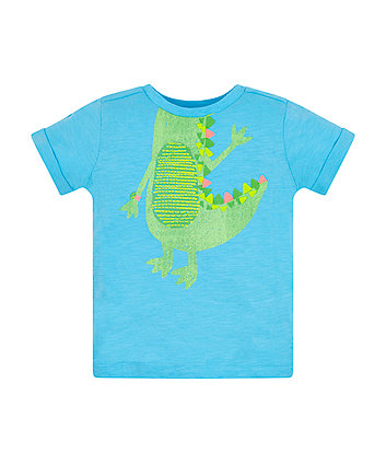 Mothercare Blue Alligator Tee