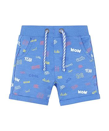 Mothercare Blue Badge Shorts