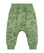 Mothercare Khaki Dino Print Joggers