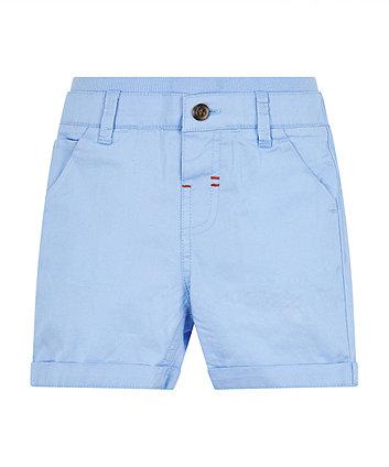 Mothercare Blue Ribwaist Shorts