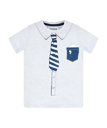 Shirt And Tie Trompe LOeil T-Shirt