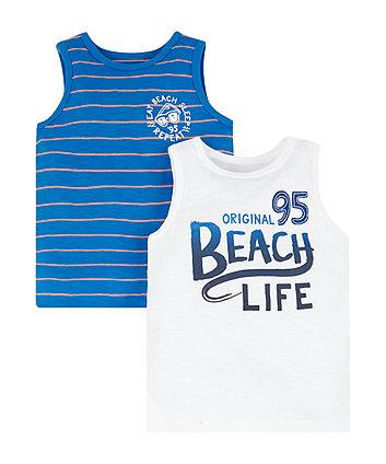 Beach Life Tops - 2 Pack