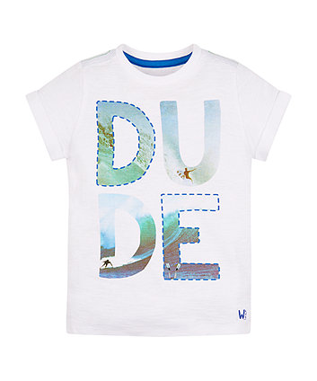Mothercare Dude Photographic Surf T-Shirt