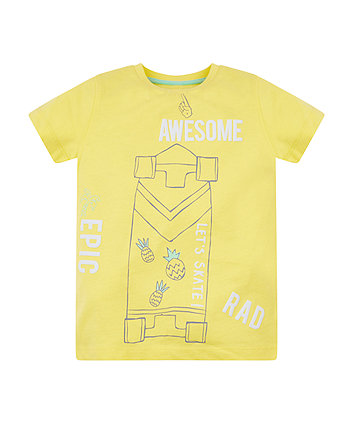 Mothercare Awesome Skateboard T-Shirt