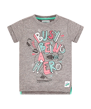 Mothercare Busy Being A Hero T-Shirt