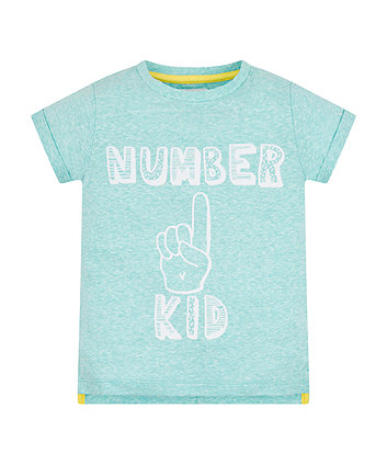 Mothercare Number One Kid T-Shirt