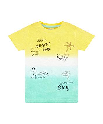 Mothercare Ombre Beach T-Shirt Single