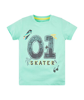 Mothercare Number One Skater T-Shirt