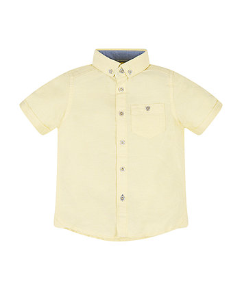 Mothercare Yellow Shirt