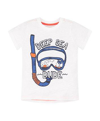 Mothercare Deep Sea Dude T-Shirt