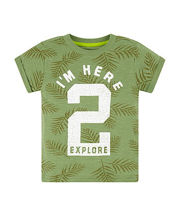 Mothercare Here To Explore T-Shirt
