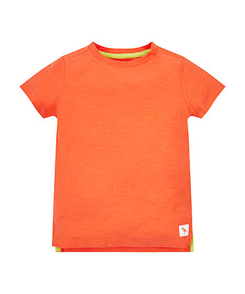 Mothercare Plain Orange T-Shirt