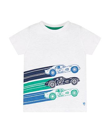 Mothercare Racing Cars T-Shirt