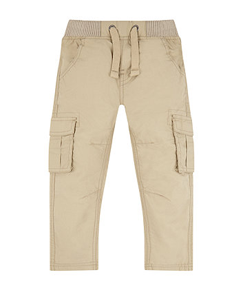 Mothercare Stone Cargo Trousers
