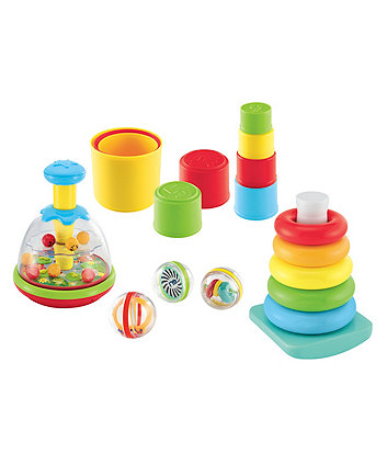 Mothercare Spin, Stack And Roll Activity Set