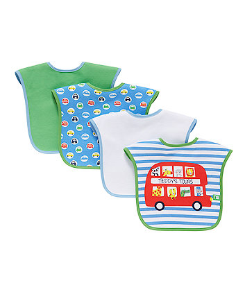 On The Road Bibs - 4 Pack