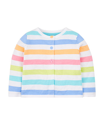 Mothercare Multicoloured Stripe Cardigan