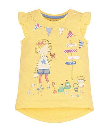 Mothercare Beach Girl T-Shirt