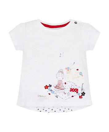 Mothercare Let'S Have A Picnic T-Shirt