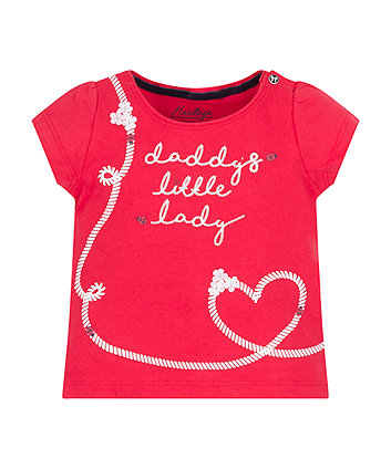 Mothercare Daddy'S Little Lady T-Shirt