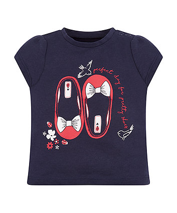 Mothercare Pretty Shoes T-Shirt