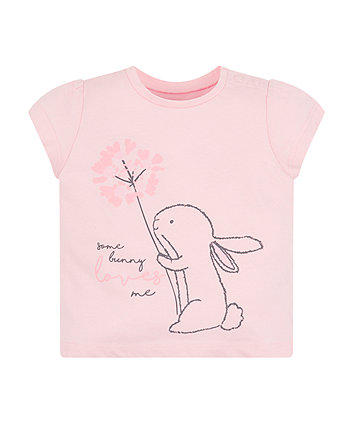 Pink Some Bunny Loves Me T-Shirt