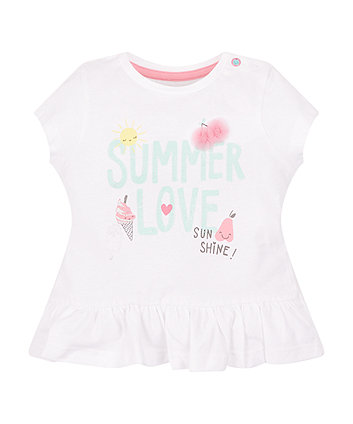 Mothercare Summer Love T-Shirt